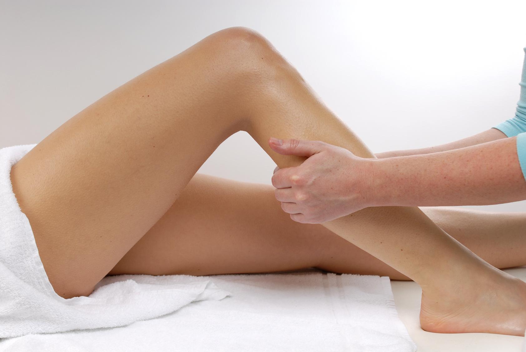 drainage lymphatique des jambes
